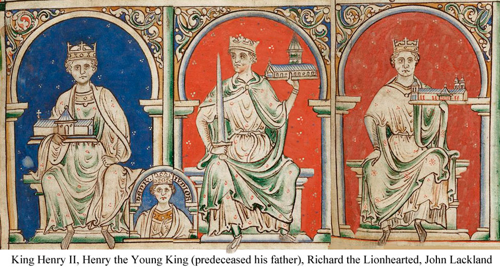Resultado de imagen para norman angevin plantagenet kings images