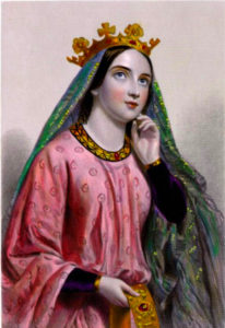 Portrait of Berengaria of Navarre, Queen of England