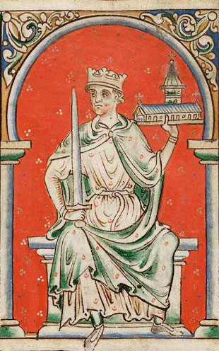 Portrait of Richard the Lionheart