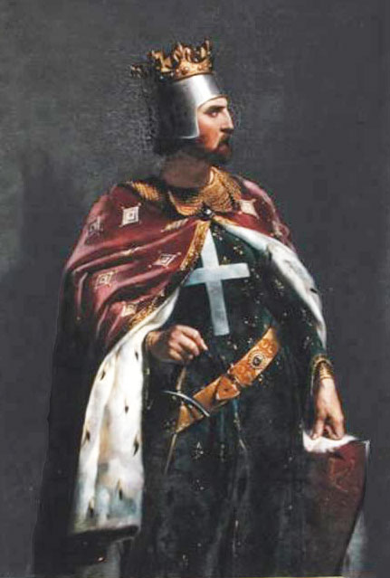 "Richard I, the ""Lionheart,"" 1157-1199 (by Merry-Joseph Blondel, 1841)"