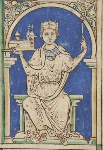 Portrait of Stephen of Blois, King of England