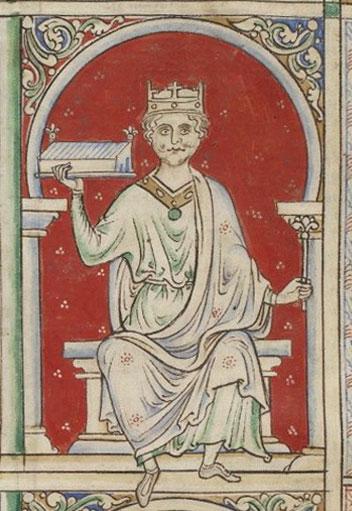 Portrait of William Rufus