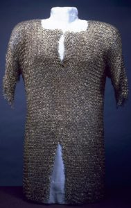 Photo of Italian chain mail shirt from the Walters Art Museum (public domain)