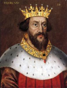 Portrait of King Henry I
