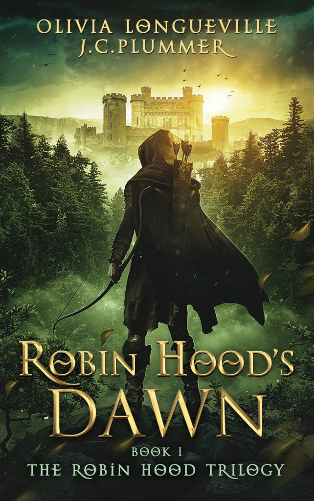 Cover design of Robin Hood's Dawn