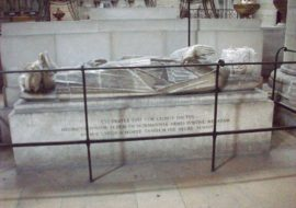 Tomb and effigy of Henry in Rouen Cathedral