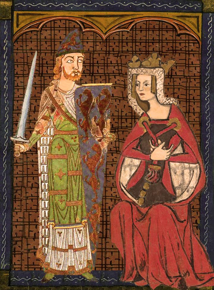 eoffrey, Count of Anjou, and Empress Matilda