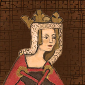 Empress Matilda portrait, she was the mother of Henry II